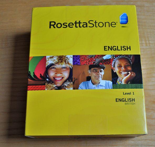 Wyjmujemy z pudełka – Rosetta Stone, kurs angielskiego