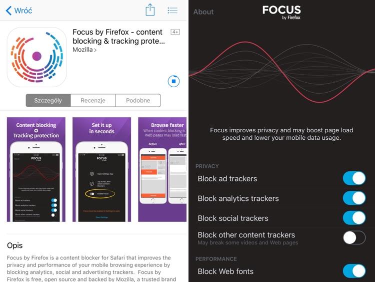 A to ci niespodzianka… Mozilla właśnie udostępniła bloker zawartości Firefox – Focus