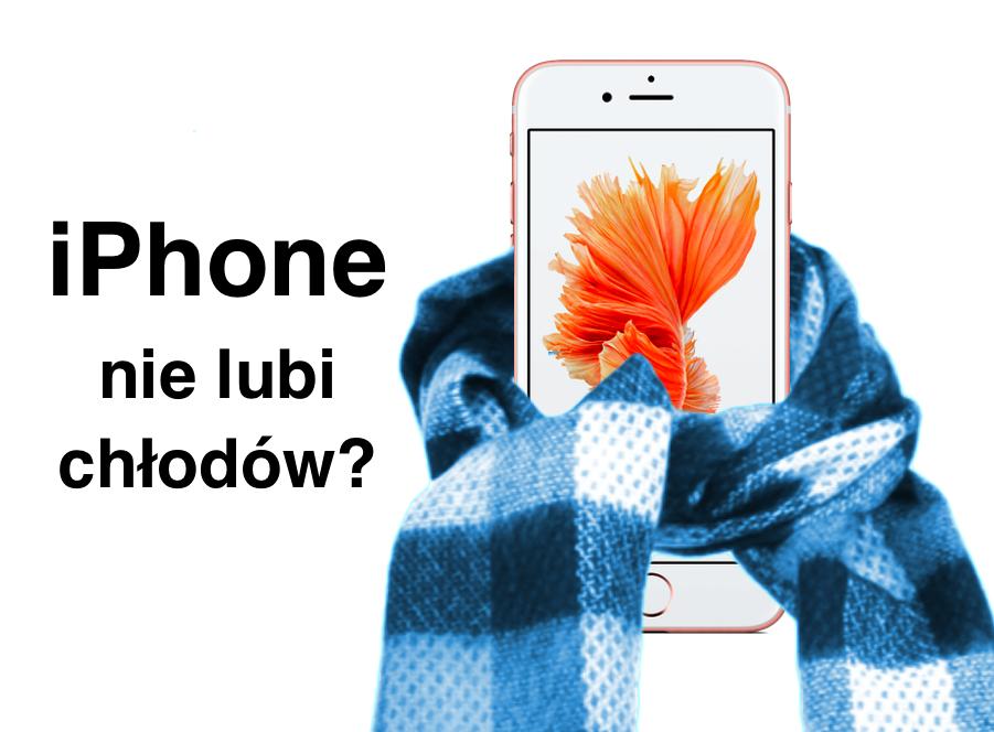 iPhone wyłącza się na chłodzie? To może byćpoważny problem!