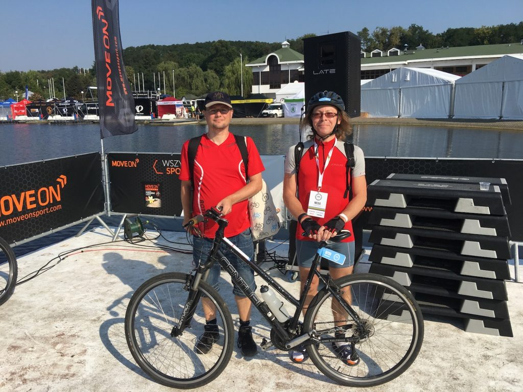 Sebastian i Jaromir oraz jego Damka przez Bike Challenge