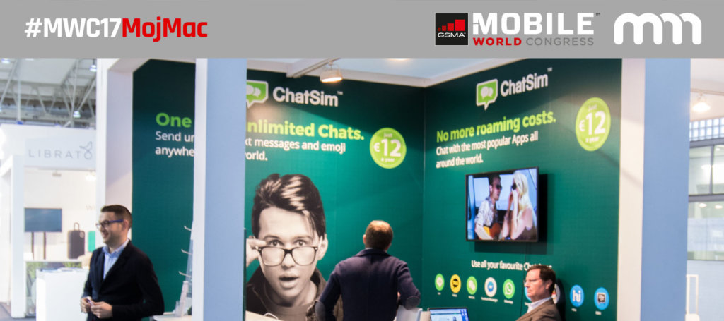 [MWC17] ChatSim – Karta SIM dla podróżników