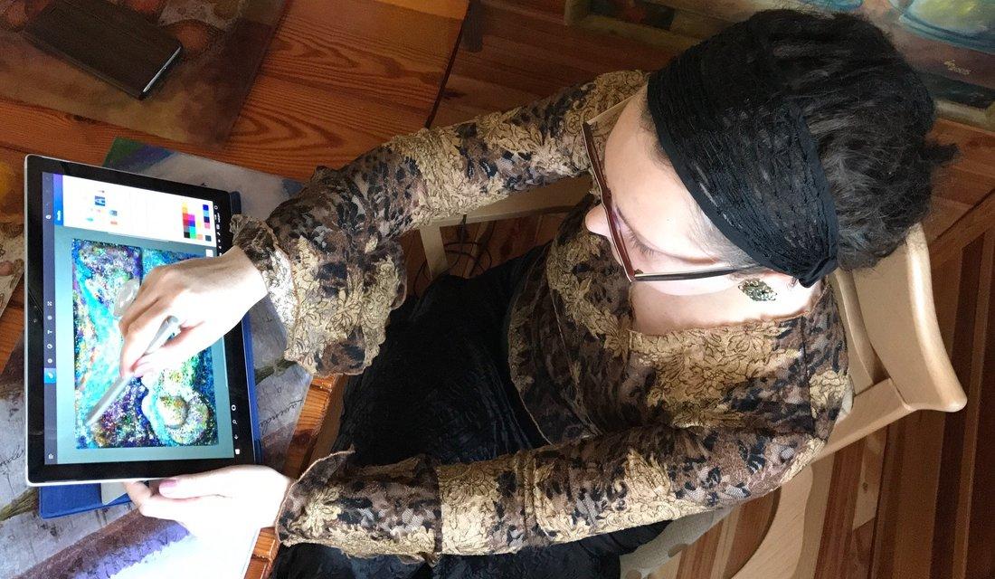 Surface Pen w rękach profesjonalisty