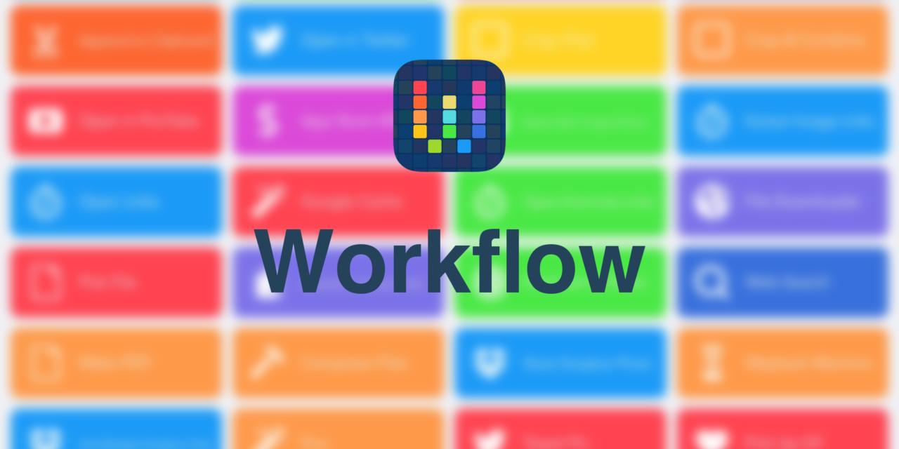 Workflow – automatyzacja aplikacji iOS – recenzja