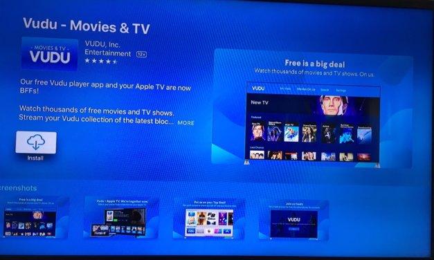 VUDU debiutuje na Apple TV. Co to oznacza?