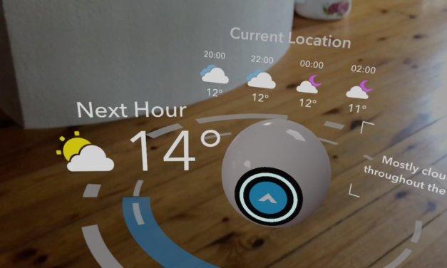 ARKit w iOS 11 i prognoza pogody na wesoło