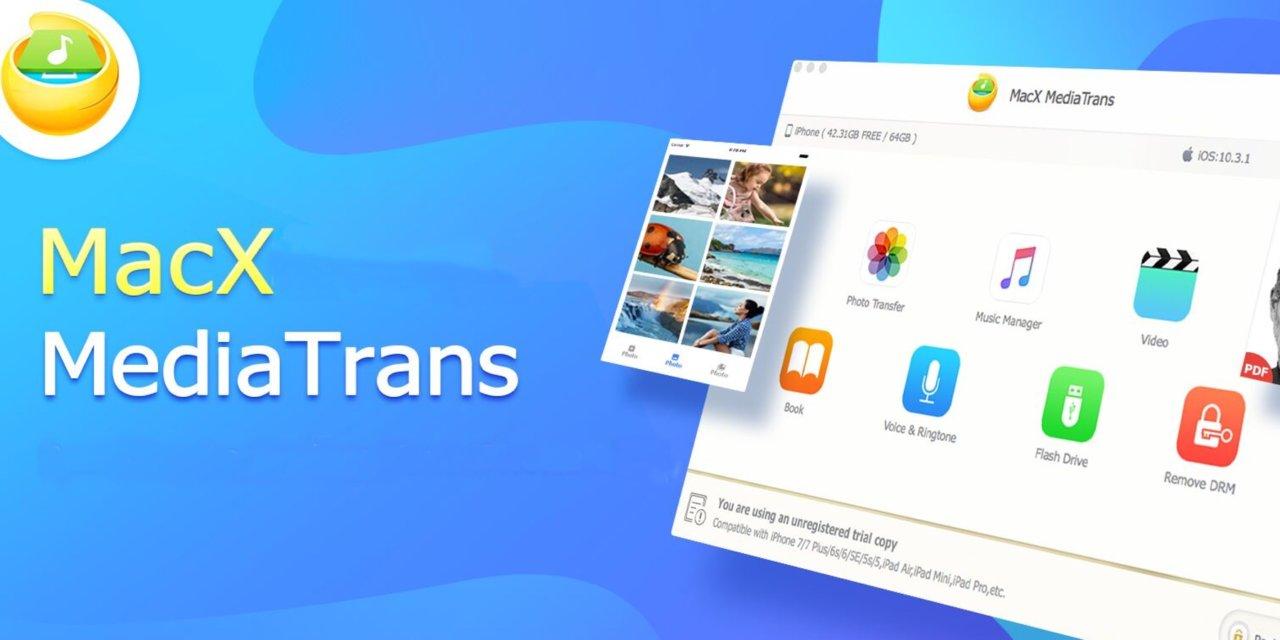 MacX MediaTrans – zarządzaj wygodnie danymi z iPhone'a i iPad'a