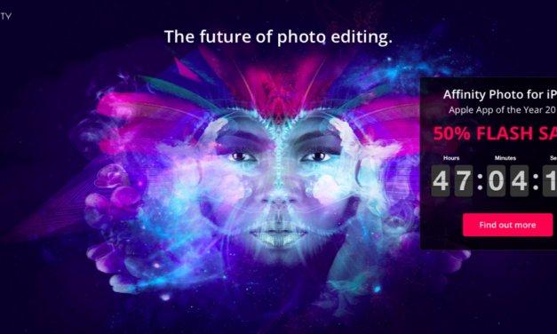 Affinity Photo dla iOS przeceniony o połowę