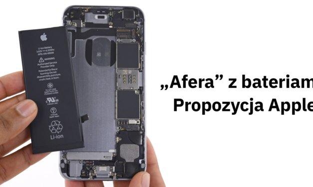"""Apple wyjaśnia, czyli """"afery"""" z bateriami pozytywny ciąg dalszy"""