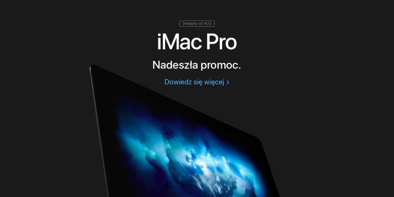 iMac Pro jużdostępny w Polsce