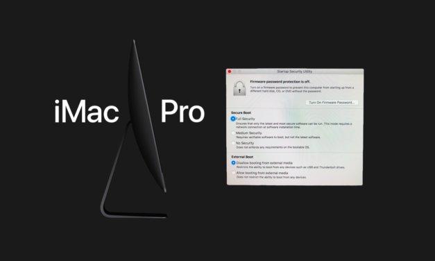 iMac Pro, jednak T2, a nie A10