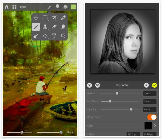 Artstudio Pro na iOS