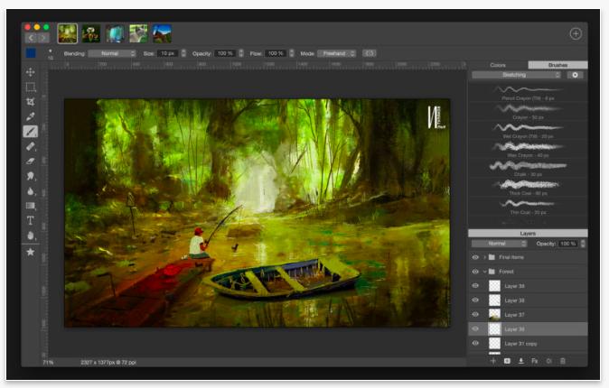 Artstudio Pro na macOS