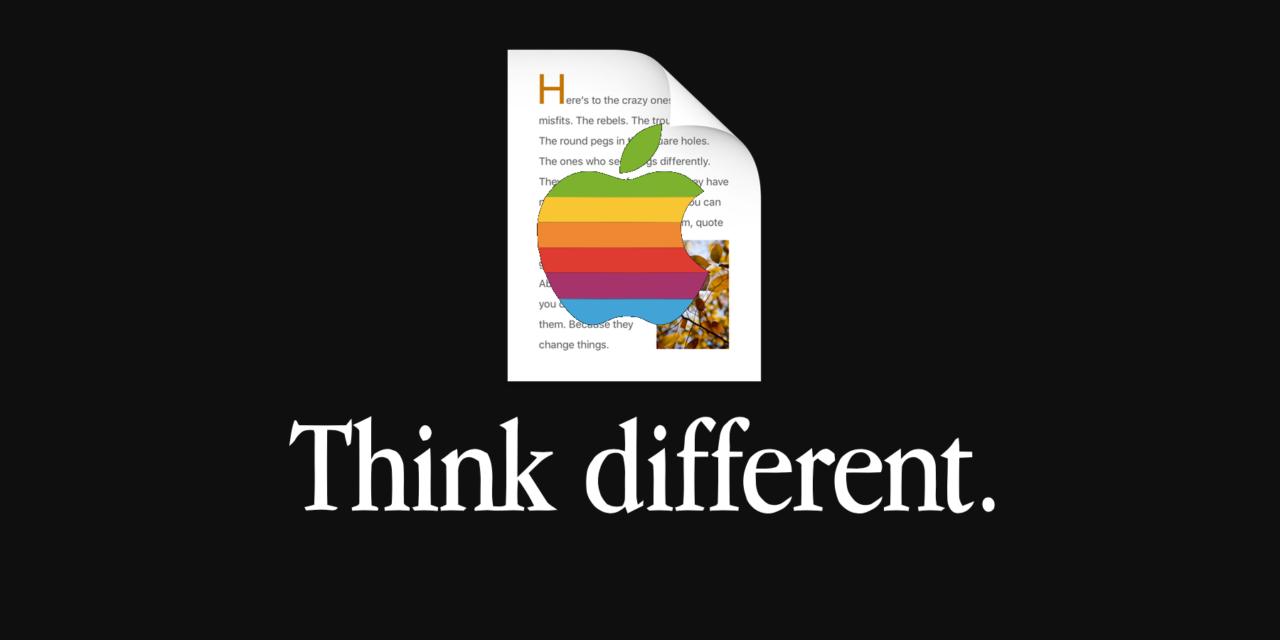 Think different, czyli ślady niezapomnianej kampanii reklamowej
