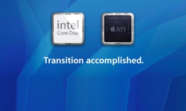 Własne procesory Apple w komputerach, Intel idzie w odstawkę.