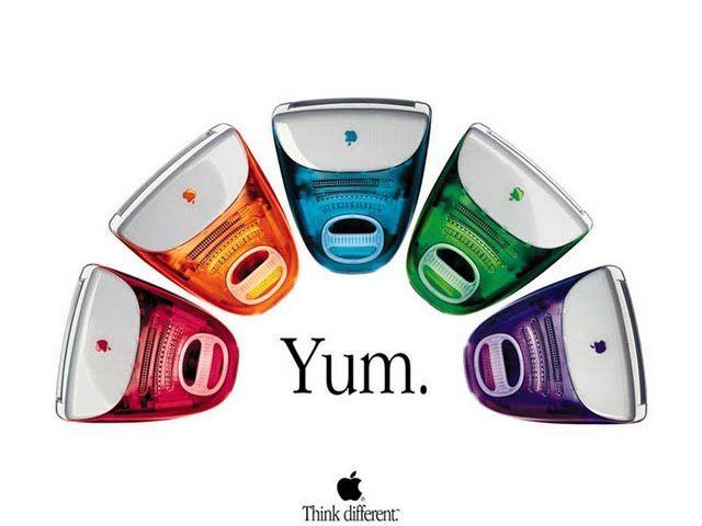 iMac wersje kolorystyczne