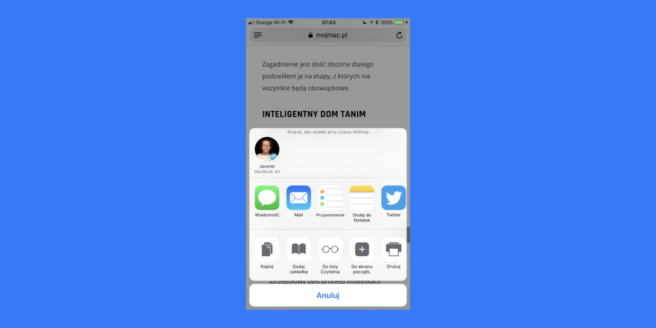 Jak zrobić PDF w iOS prawie ze wszystkiego