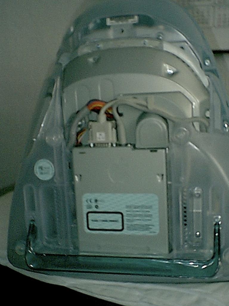 iMac 233 w środku