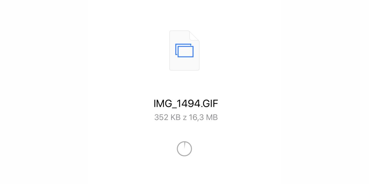 Jak na iPhone zrobić animowany GIF, bez dodatkowych aplikacji