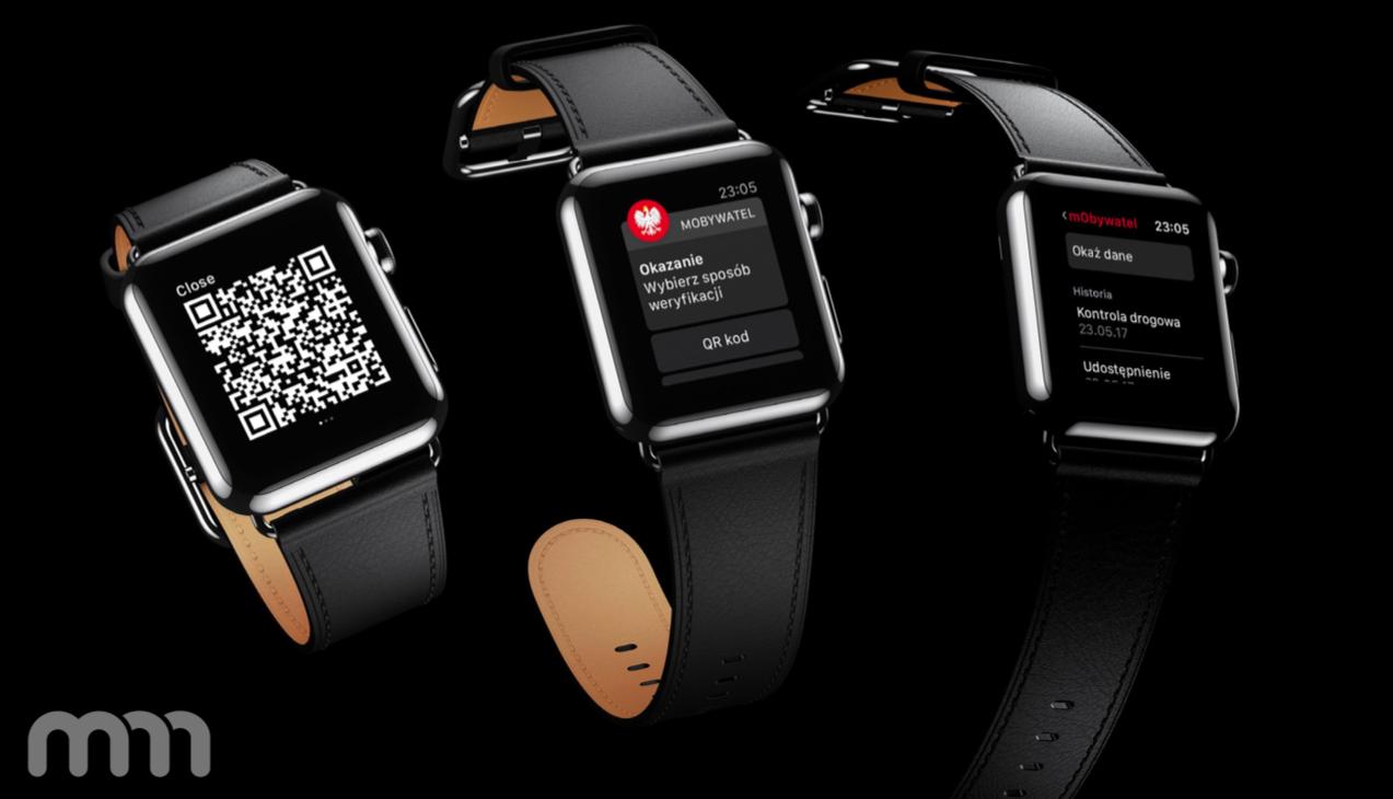 mObywatel na Apple Watch