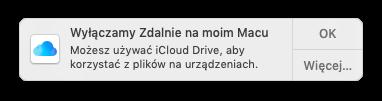 Wyłączamy Zdalnie na moim Macu
