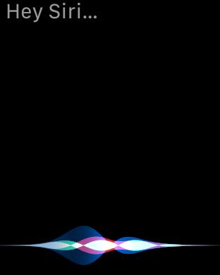 Hey Siri w watchOS 5