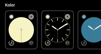 Nowe opcje tarczy w watchOS 5.1