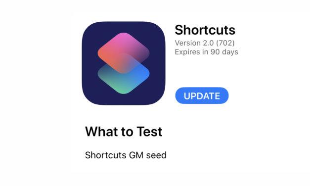 Skróty. Finalna wersja aplikacji już u deweloperów. Jutro szaleństwo aktualizacji!
