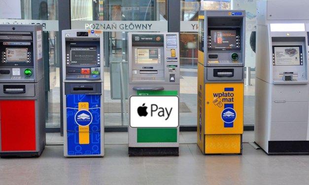 Wypłata w bankomatach za pomocą Apple Pay