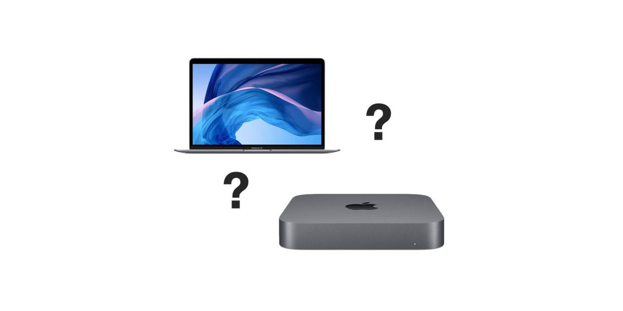 Mac mini kontra MacBook Air