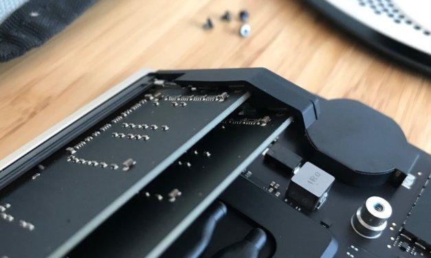 RAM w Mac mini, pierwsze próby wymiany pamięci