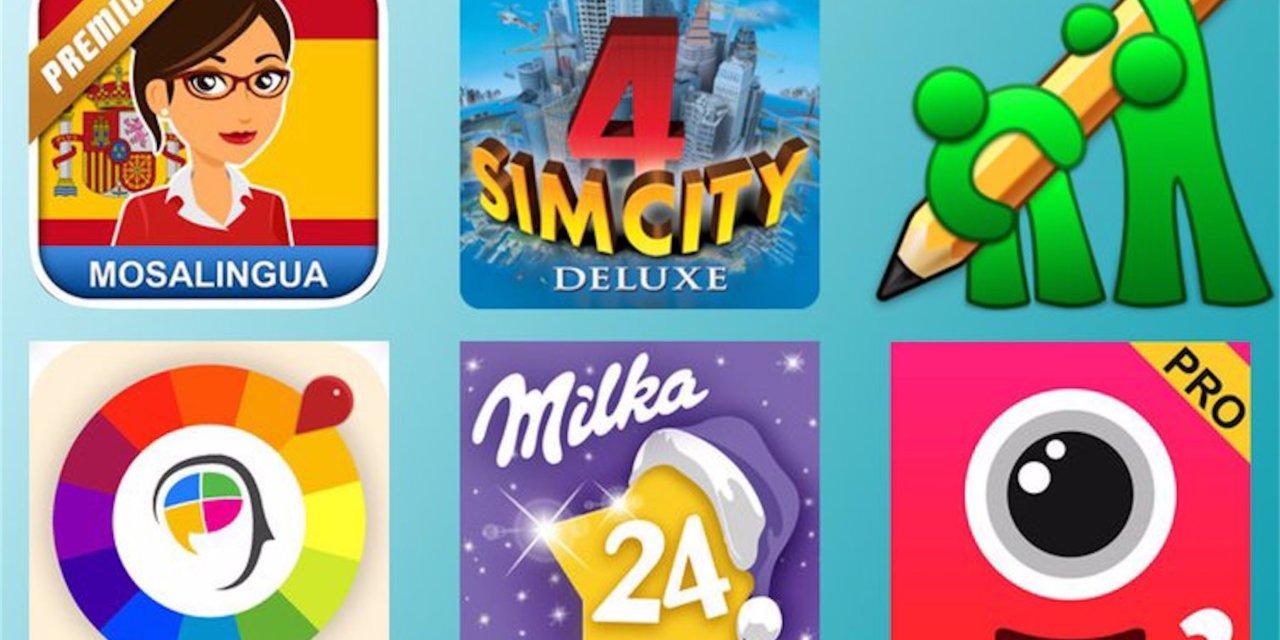 Promocyjne aplikacje dla iOS i macOS.